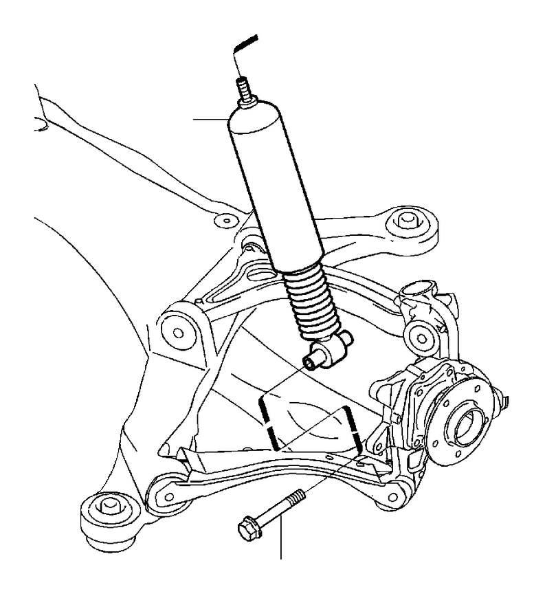 Volvo V70 XC Flange Screw. AWD. Level Control Kit. R Line