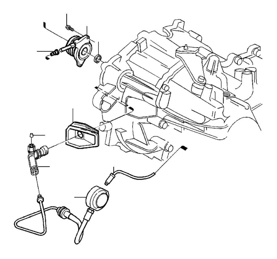 Volvo C70 Manual Transmission Input Shaft Seal. Clutch