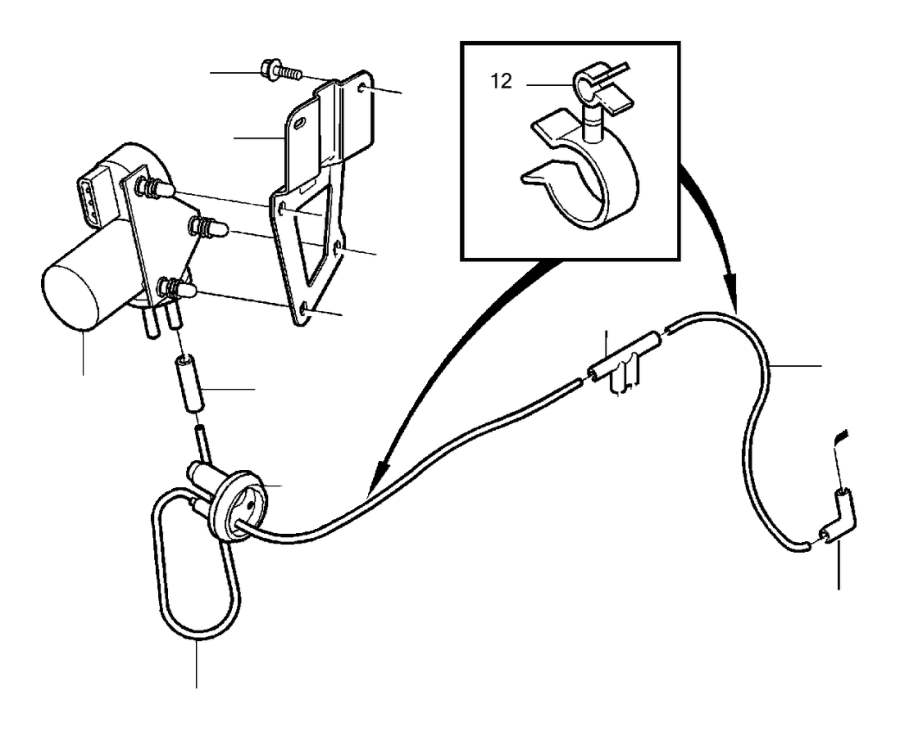 Volvo S40 Cruise Control Vacuum Pump. Kit, Engine