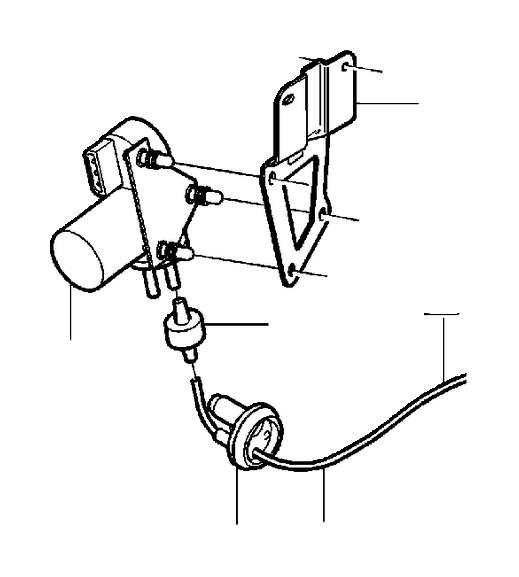 Volvo V40 Cruise Control Vacuum Pump. Kit, Engine