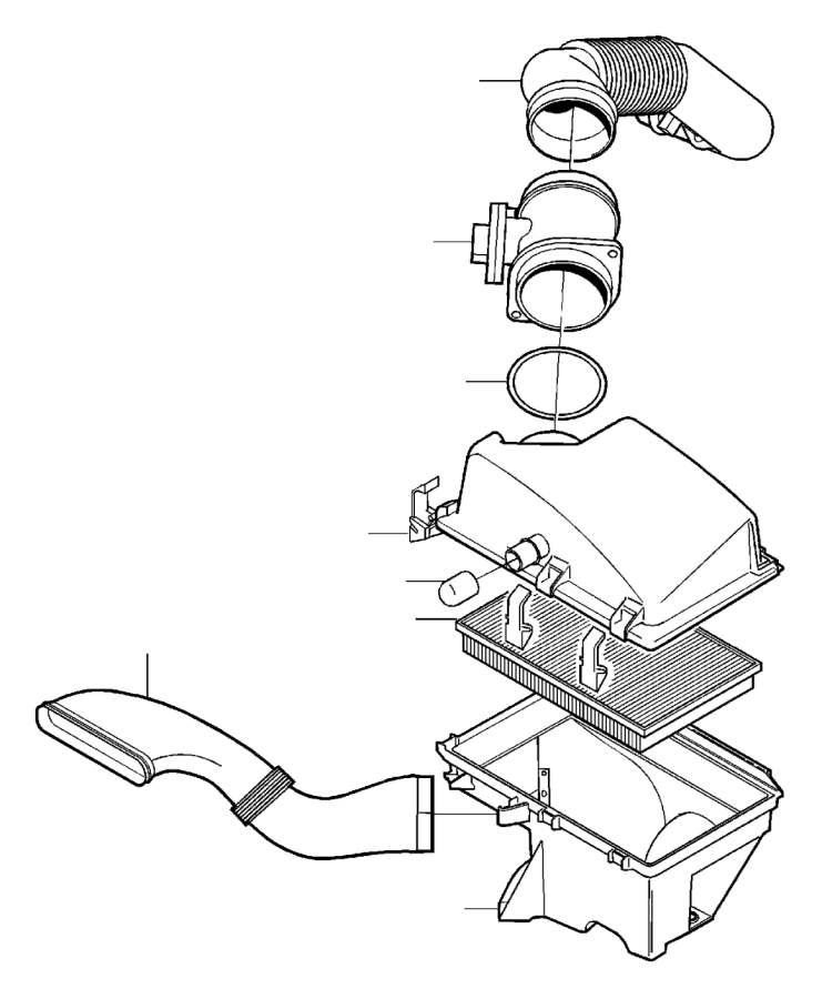 Volvo S80 Engine Air Intake Hose. Air Inlet. Air Filter