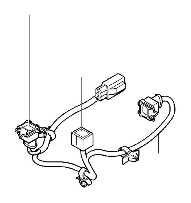 Volvo V40 Wiring Harness. Automatic Gearbox. Vacuum Pump