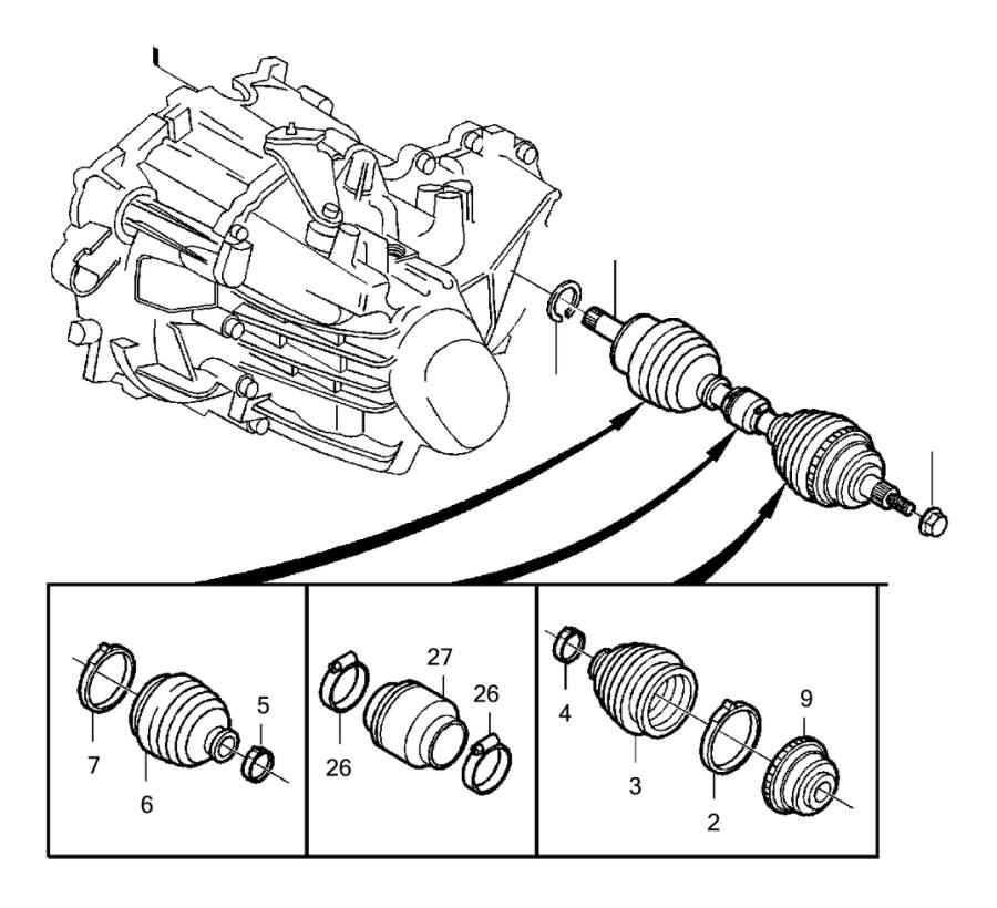 Volvo C70 Wheel Bearing Dust Cap. Drive, TRANS, AUTO