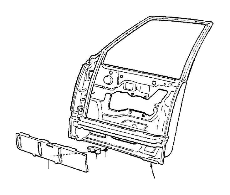 Volvo S70 Spacer. Body Frame. Door. Interior, Classic