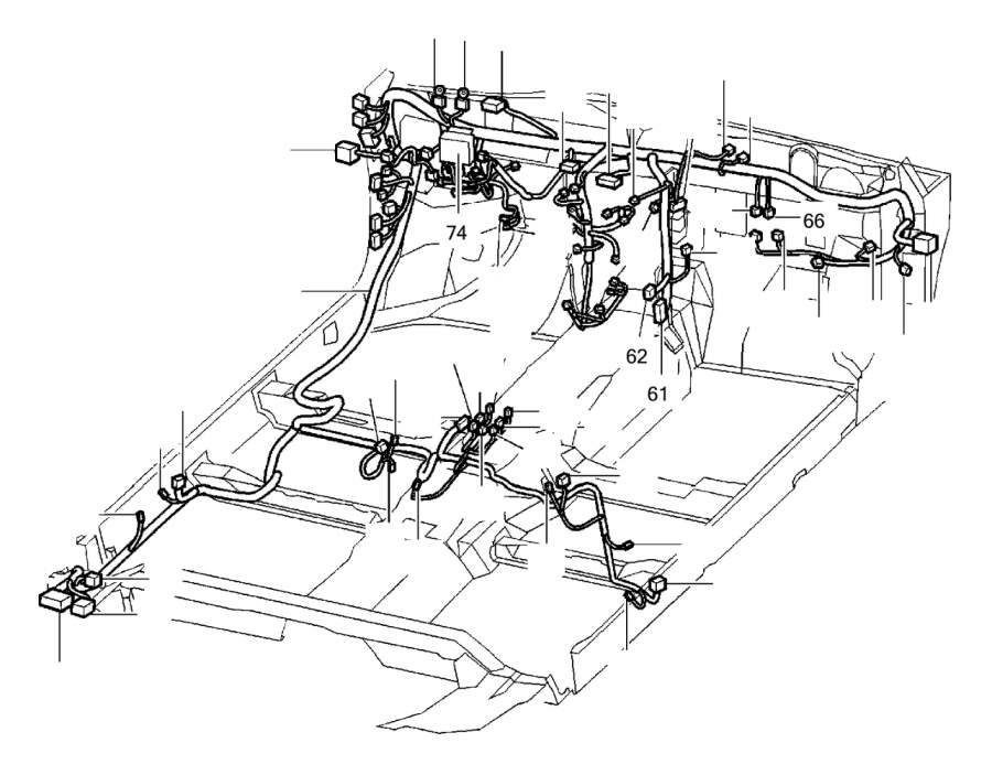 Volvo S40 Insulator. Cabin. Connector. Engine. Heated