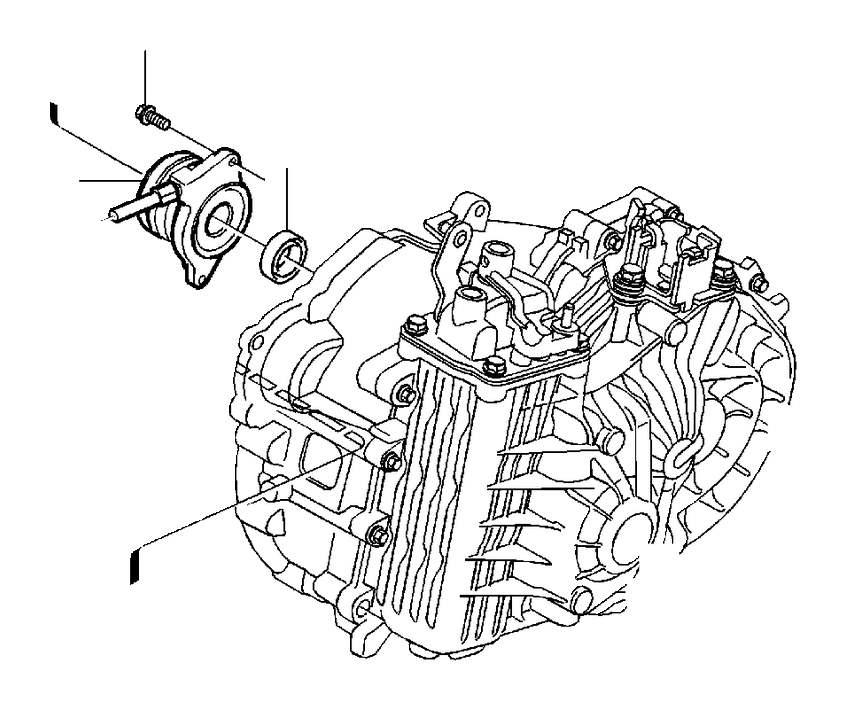 Volvo V70 Adapter. Clutch Control. Mechanical Clutch. 1:1