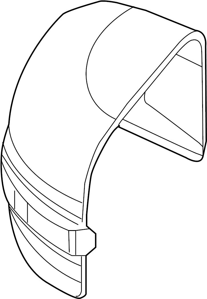 Volvo S80 Seat Track Cover (Right). CODE 8X41. CODE 8X79
