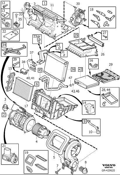 Volvo XC60 Air inlet housing. Variant, Unit, Code