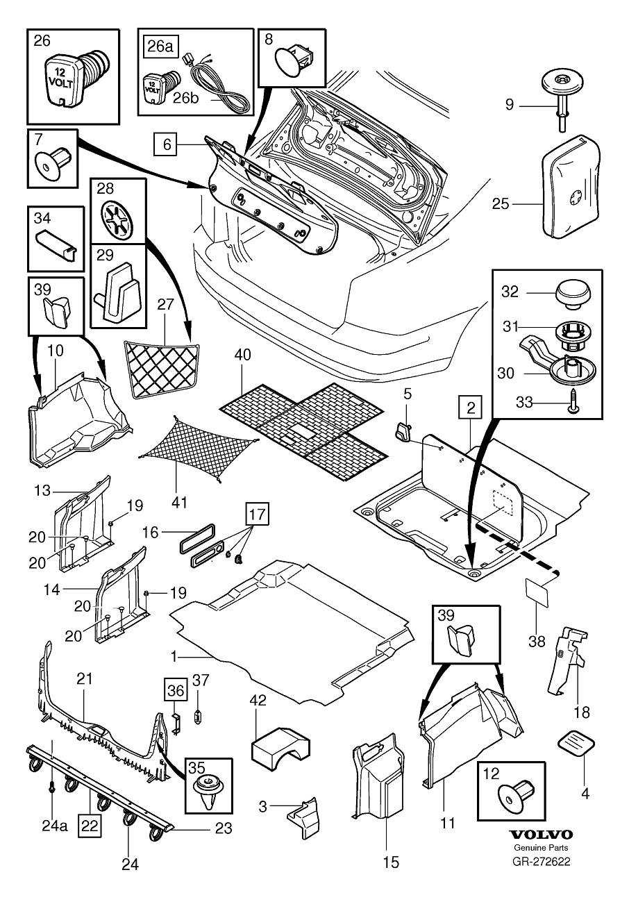 Volvo S60 Stop. Accessories, Passenger Compartment