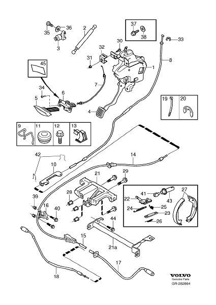 2008 Volvo V70 Multi Link. Brake Control, Mechanical