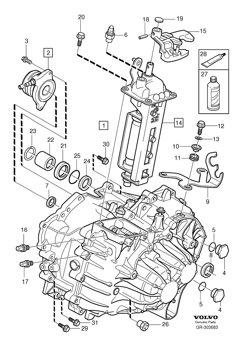 2021 Volvo XC90 Transfer Case Output Shaft Seal. DRIVE