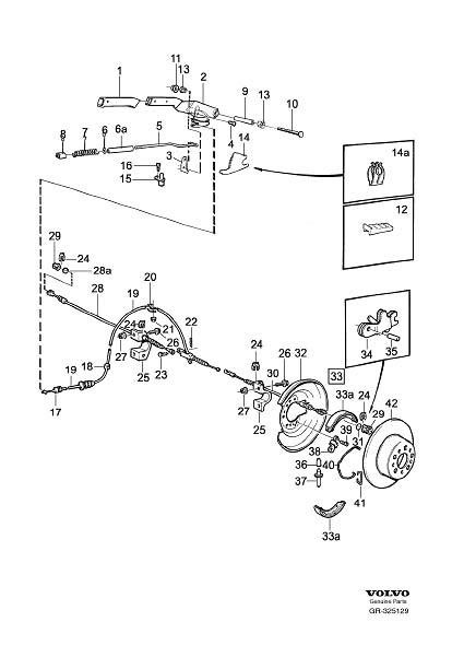Volvo S90 Washer. Multi Link. Parking Brake. EXC, System