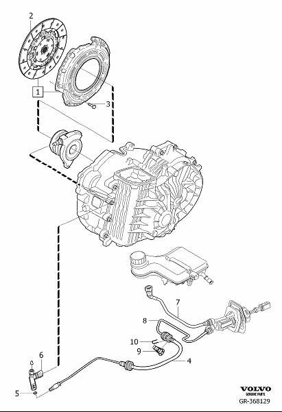 Volvo V50 Clutch Pressure Plate and Disc Set. Clutch Kit