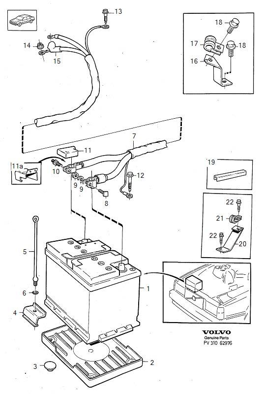 Volvo 760 Flange screw. Digital, Hubodometer, Jukebox
