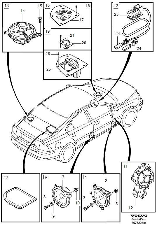 Volvo S60 Speaker. CH 123000. CH 315000. CH 349000. CH