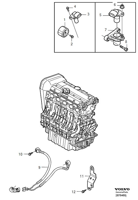 Volvo S40 Rotor. Control System, Ignition. Intake. 5CYL