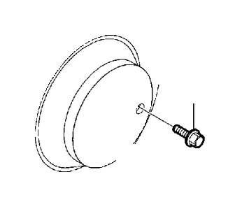 2010 Volvo Six point socket screw. Brake, Wheel, Front