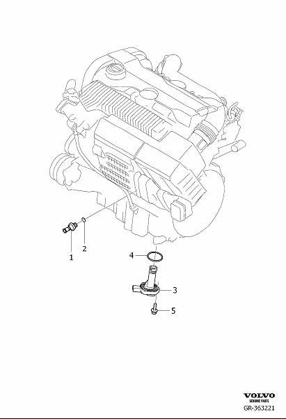 Volvo XC90 Engine Oil Level Sensor. Sensor For Indicator
