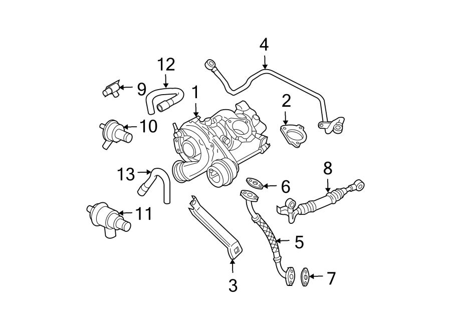 2001 Volkswagen Beetle Turbocharger Wastegate Actuator