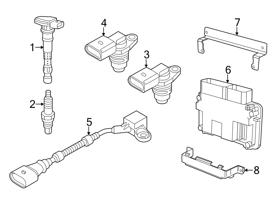 2014 Volkswagen Beetle Convertible Spark Plug. Spark Plug