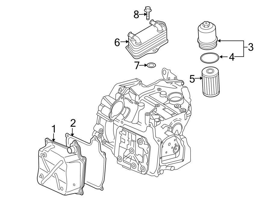 Volkswagen Beetle 2.0L DIESEL M/T Cooler. Seal. Ring