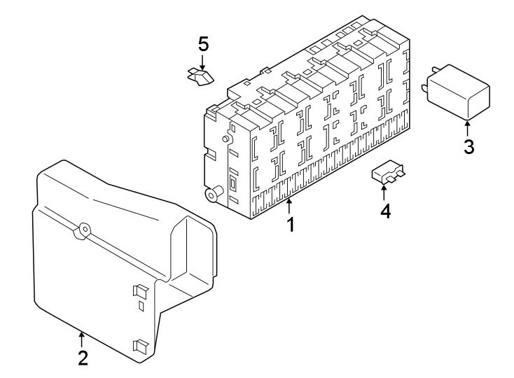 1991 Volkswagen Corrado Fuse box. Relay AND fuse PLATE
