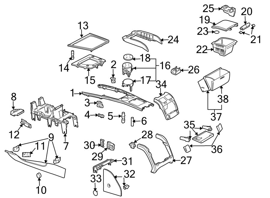 Volkswagen Phaeton Armrest bezel. TRIM. BODY & COMPONENTS