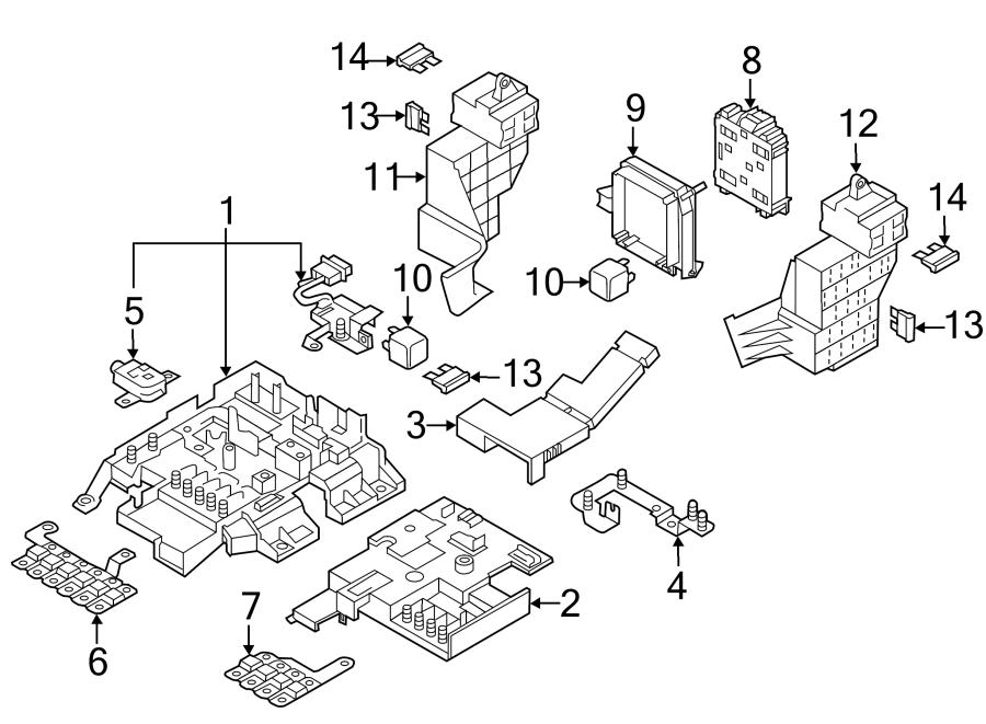 60 amp fuse box parts