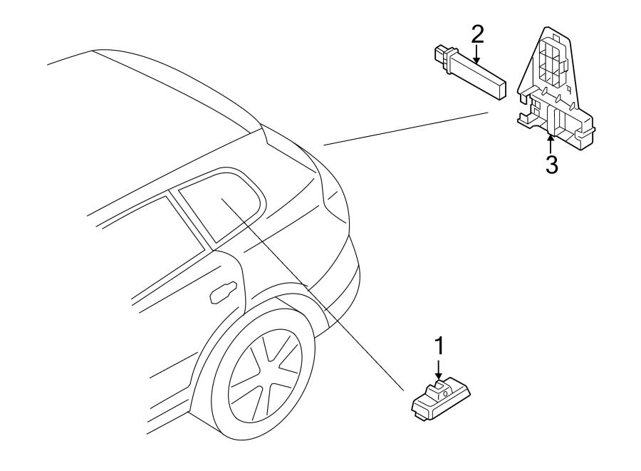 Volkswagen Tiguan Tire Pressure Monitoring System Sensor