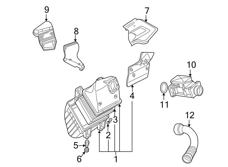 Volkswagen Passat Wagon Engine Air Intake Hose. INTAKE