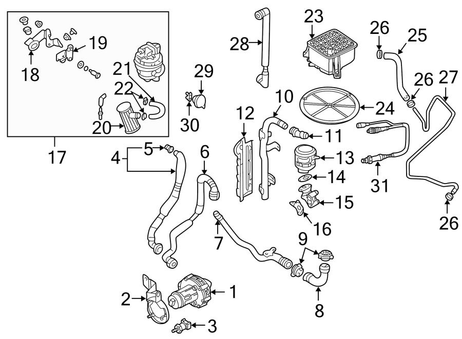 Volkswagen Passat GLS Sedan 1.8L M/T FWD Egr valve spacer