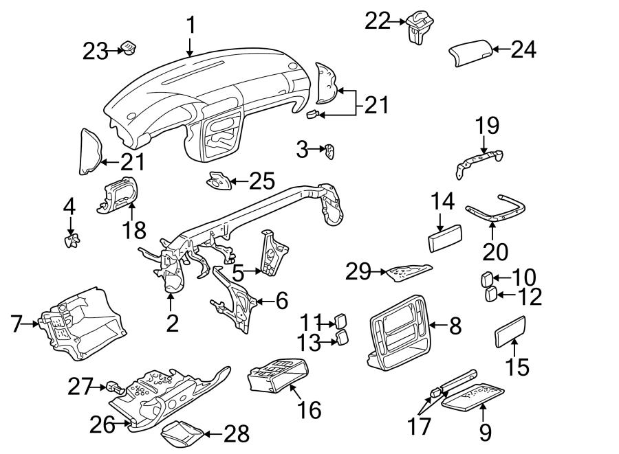 2001 Volkswagen Passat Wagon 2.8L V6 M/T FWD Steering