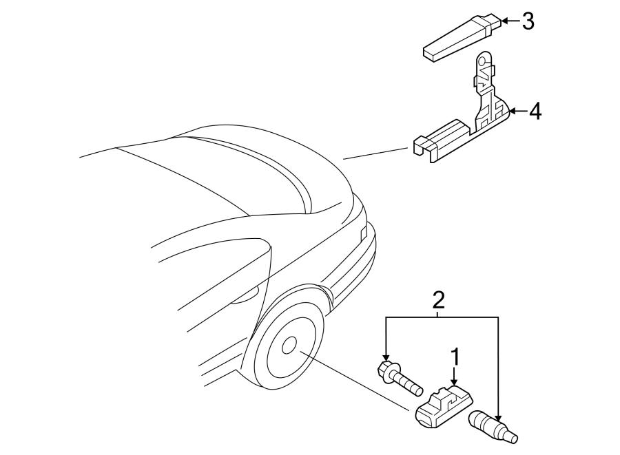 2014 Volkswagen Tire Pressure Monitoring System Receiver