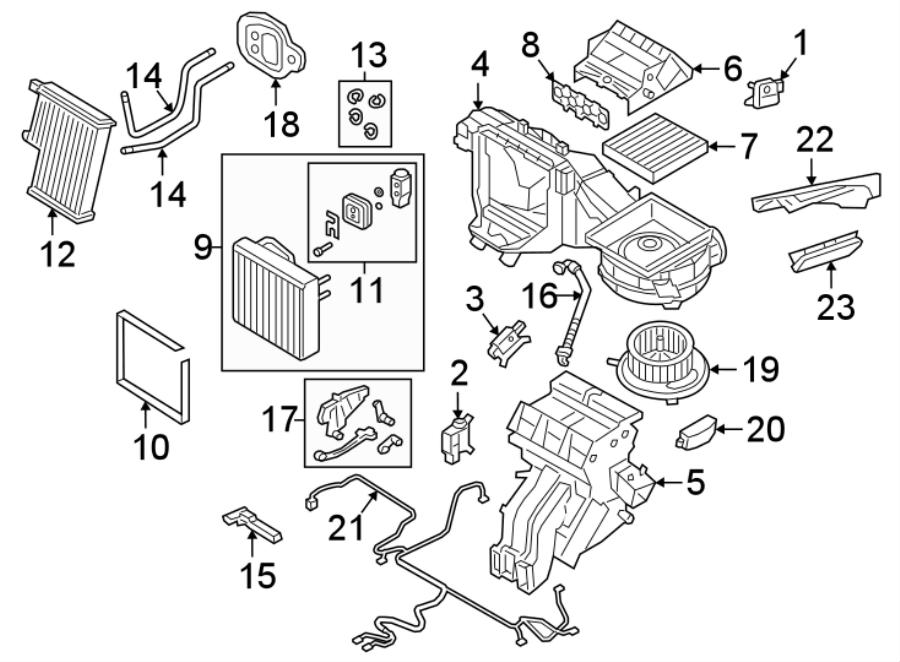 Volkswagen Tiguan R-Line Motor. Actuator. Control. Hvac