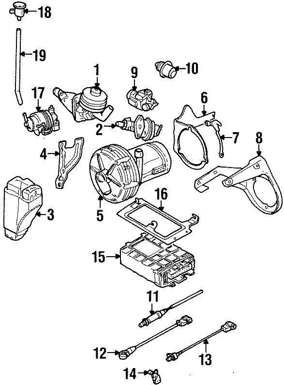 1995 Volkswagen Golf Fuel Injection Pressure Regulator