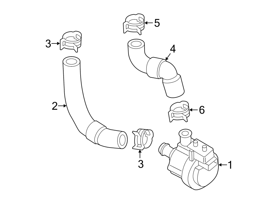 2015 Volkswagen Golf Auxiliary pump. Engine auxiliary