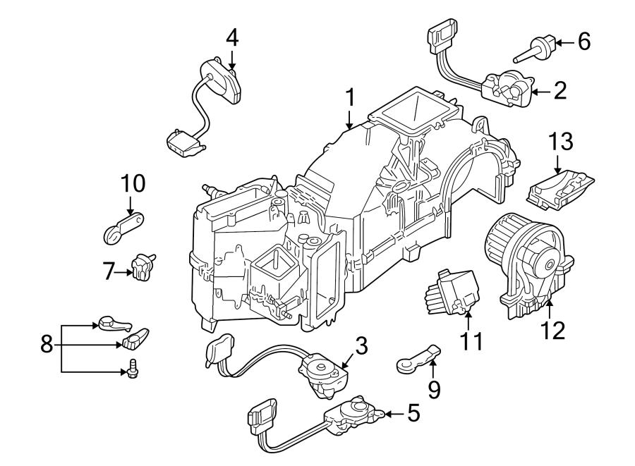 Volkswagen Jetta Wagon Control. Module. HVAC. Motor