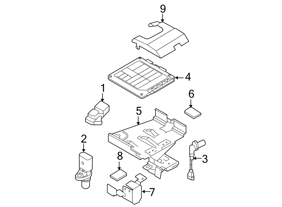 Volkswagen Jetta Engine Control Module. 1.9 LITER, manual