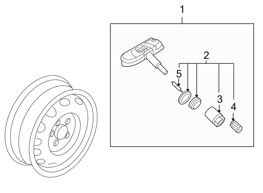 2007 Volkswagen Passat Tire Pressure Monitoring System