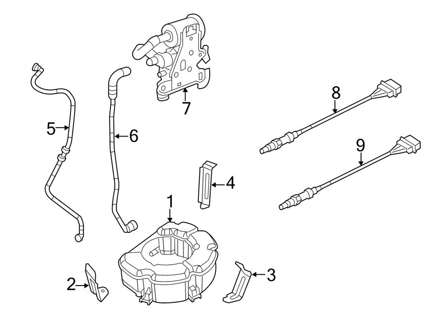 2012 Volkswagen Jetta Front oxygen sensor. Jetta; 2.0l; w