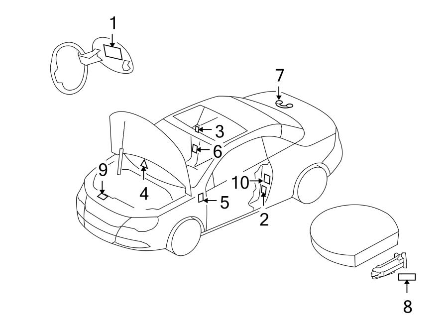 2017 Volkswagen Jetta A/c system information label. Wagon