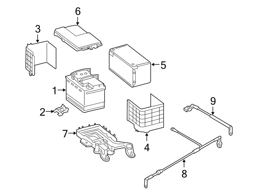 2015 Volkswagen Passat 1.8L Automatic Vehicle Battery
