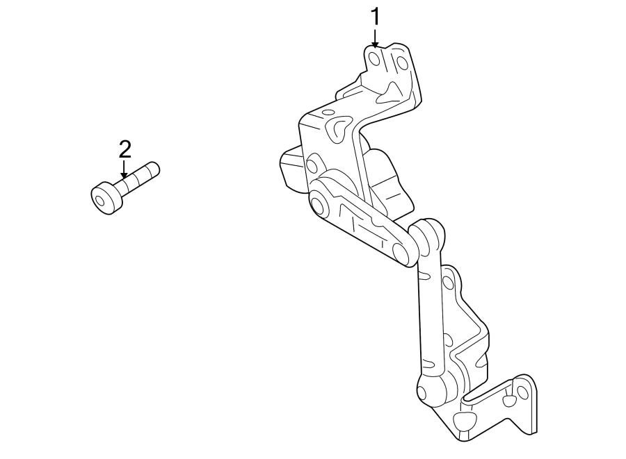 2016 Volkswagen Eos Sensor. (Rear). SUSPENSION, Model