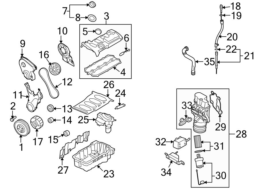 Volkswagen Passat 2.0T 2.0L A/T FWD Engine Oil Dipstick