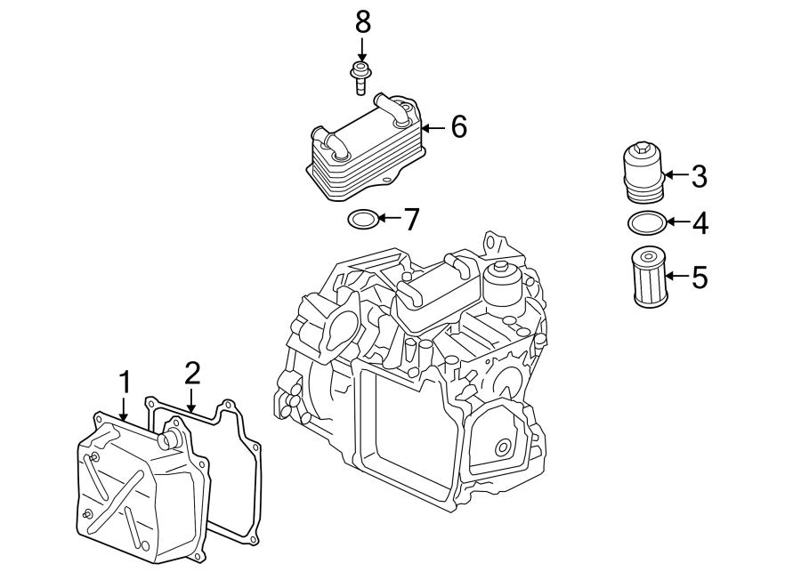 2017 Volkswagen GTI Transmission Filter. Audi; VOLKSWAGEN