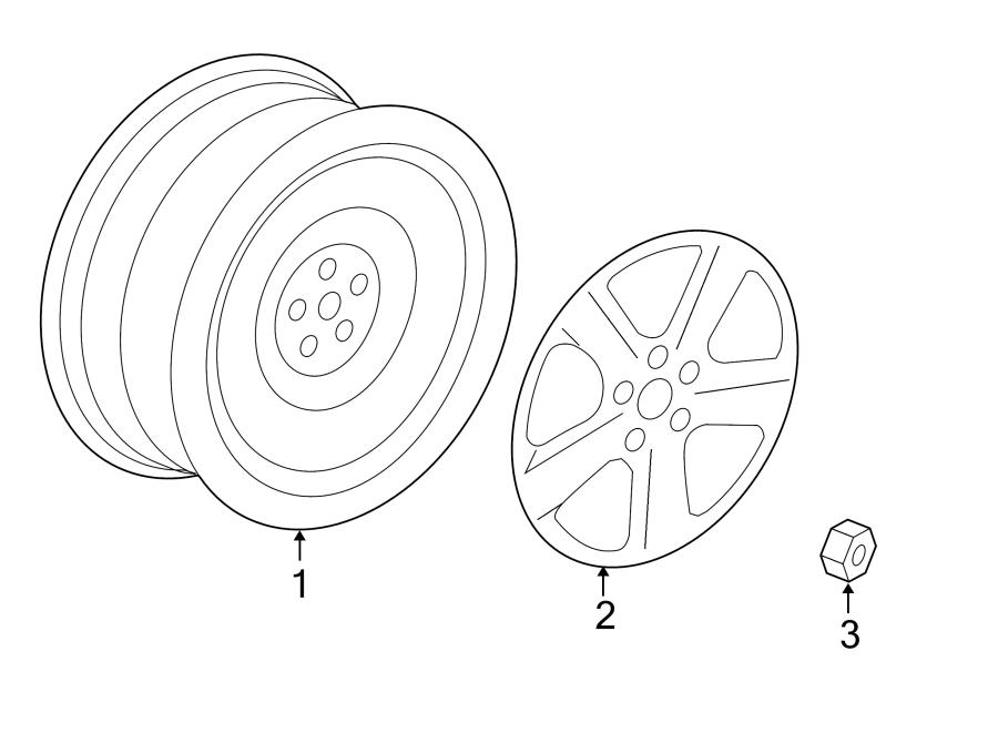 2010 Volkswagen Routan Wheel. SOHO, May, Notice