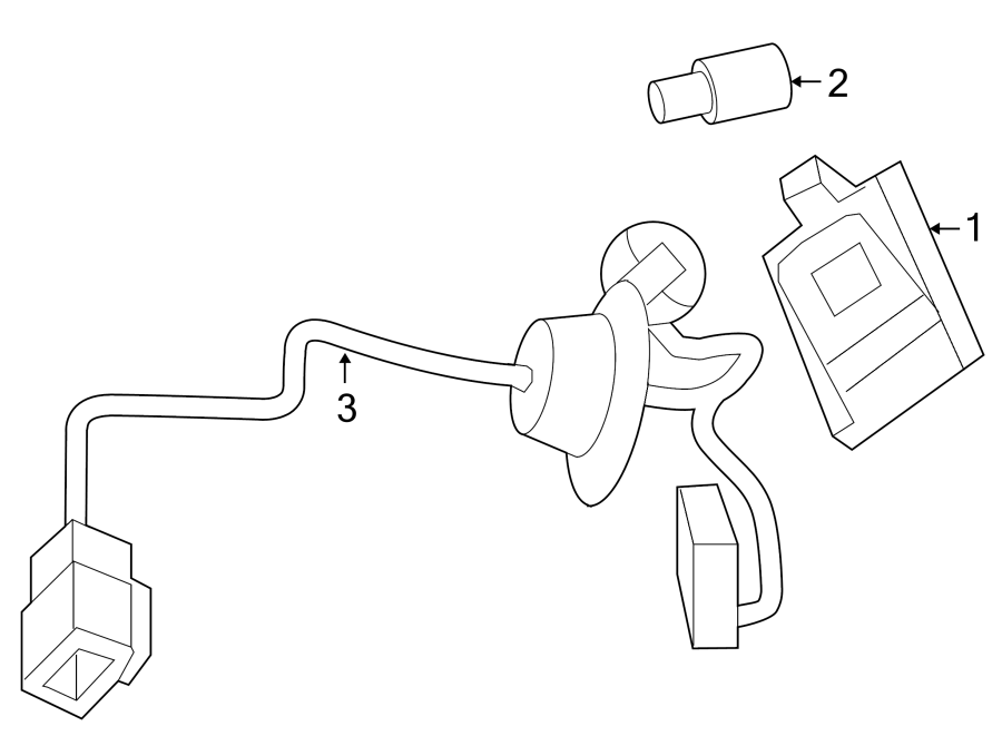 2012 Volkswagen Passat License lamp bulb. License lmp bulb