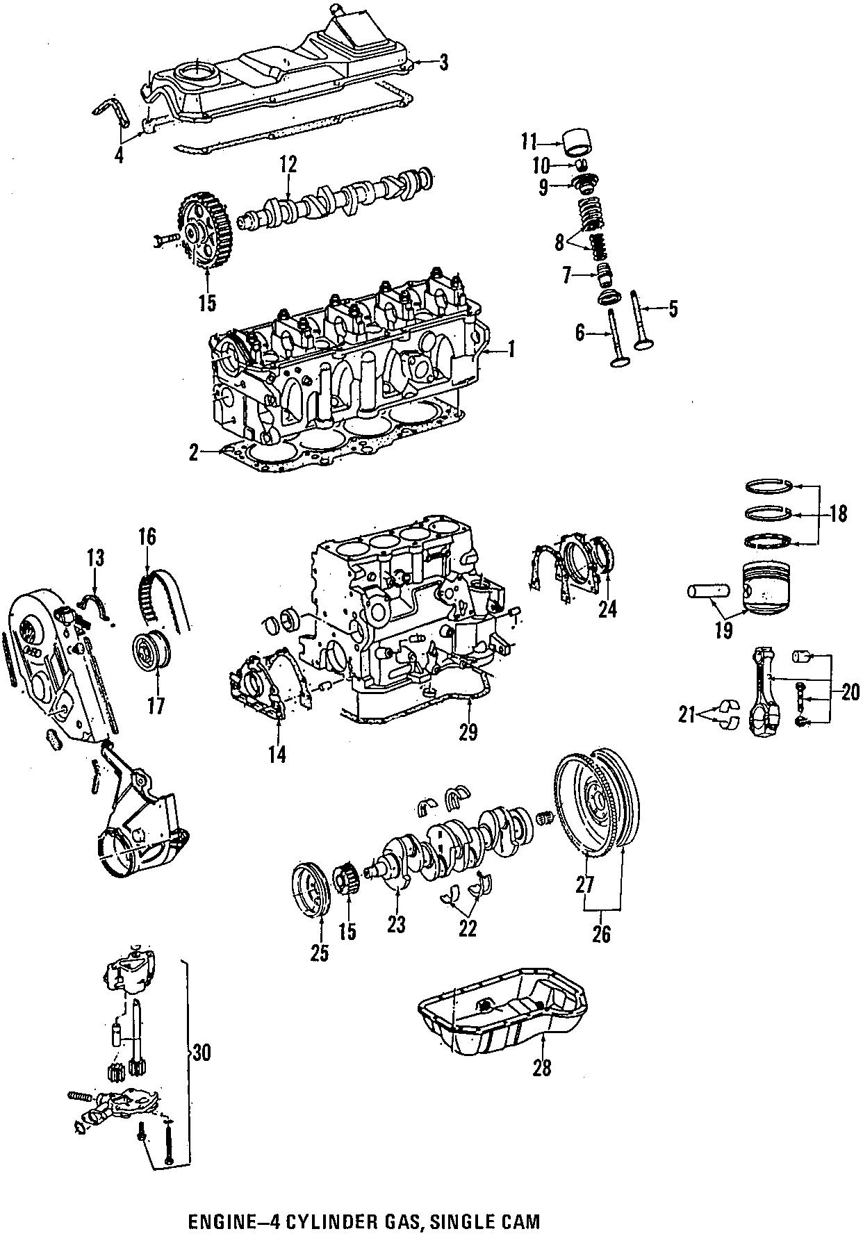 Volkswagen Passat Wagon Engine Crankshaft Seal (Front