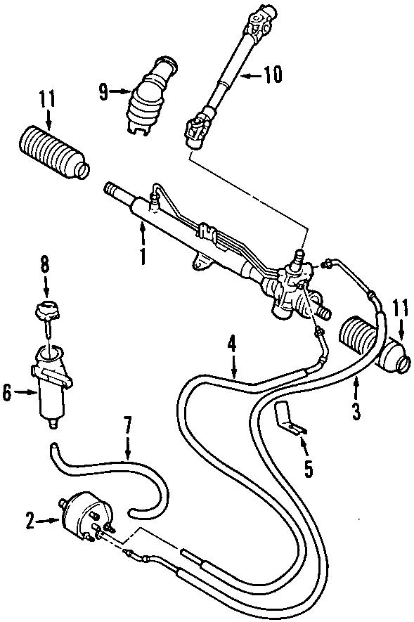 Volkswagen Jetta GLI Power Steering Pump. Power Steering