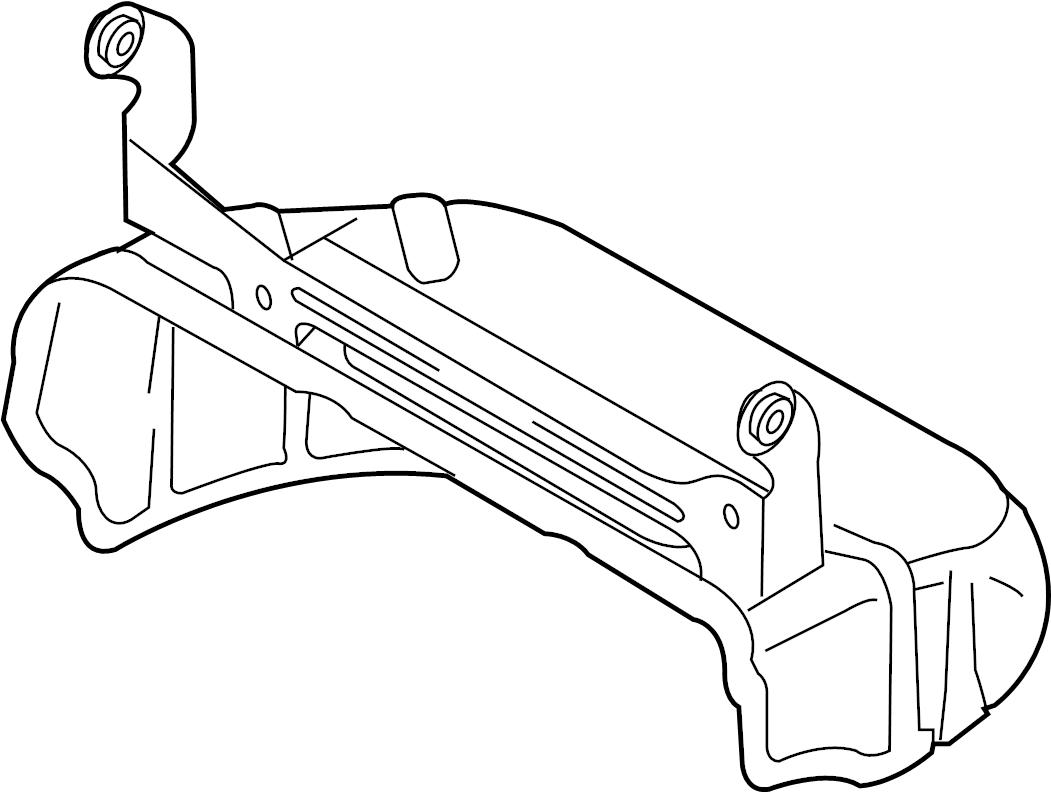 Volkswagen R32 Exhaust Heat Shield. Exhaust Manifold Heat